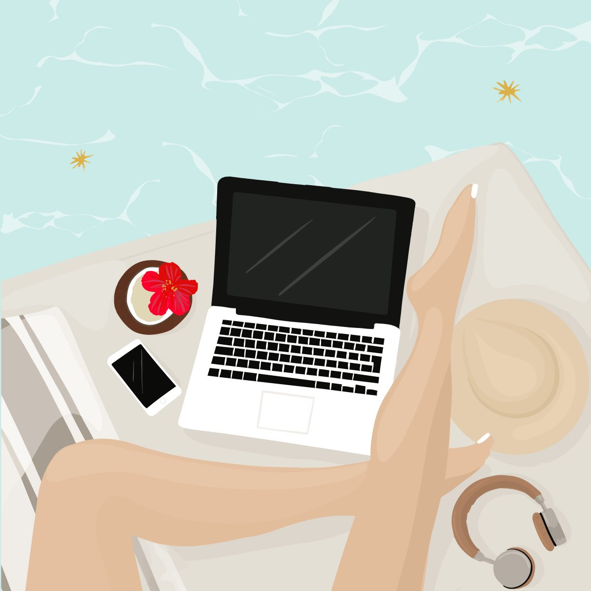 Become Freelance Digital Nomad Online Course Gurvi Movement