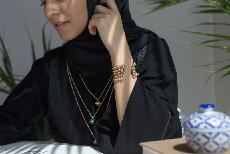 Middle Eastern female living and working in Dubai