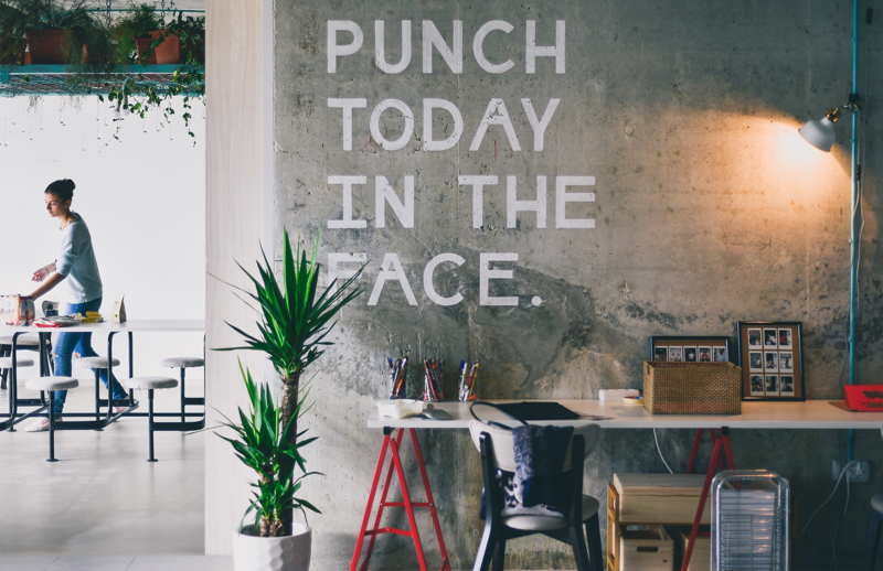 Punch today in the face - Learn from your mistakes - Inspiring Quotes