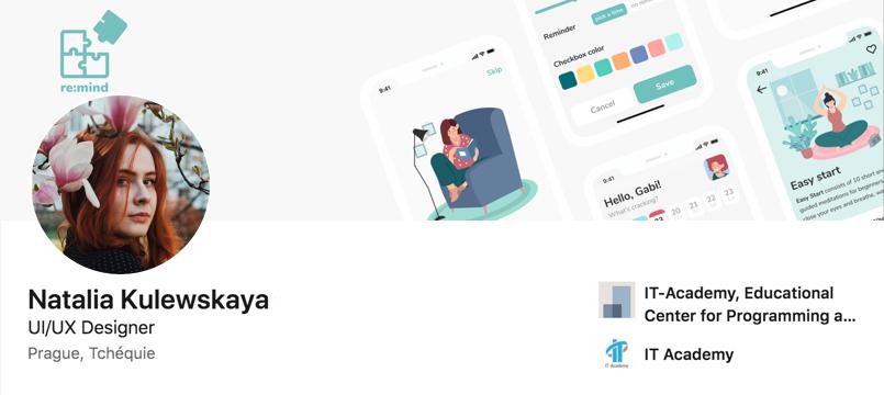 Best UX Designer Portfolios - NATALIA KULEWSKAYA